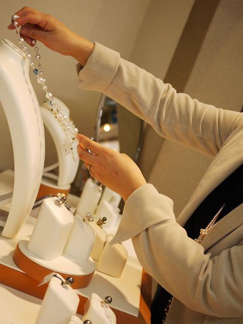 パール真珠フェア設営写真1