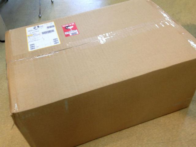 ナイキ・スポーツ用サングラス、マーションジャパンから荷物が到着