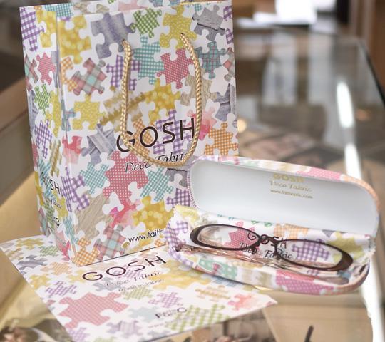 GOSHゴッシュ・鯖江産フレーム・メガネ 可愛いケースとバッグ
