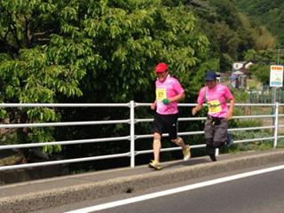 2013えびすだいこく100kmマラソン・デッドヒート2