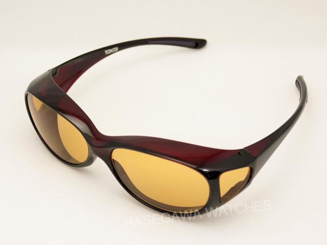 オーバーグラス遮光眼鏡レンズ東海光学ビューナルの小さいサイズ