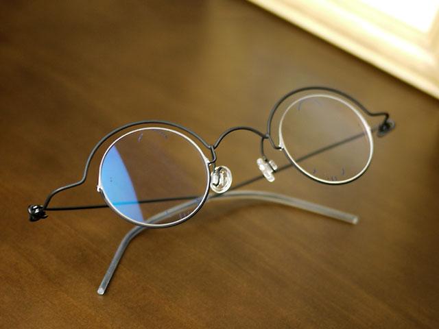 コンセプトY・丸眼鏡、遠近両用ブルーカット