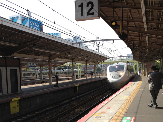 JR特急サンダーバード7号・富山行き