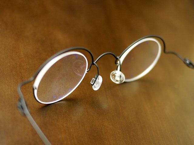 コンセプトY・クラシック丸眼鏡、遠近両用・レンズ薄い