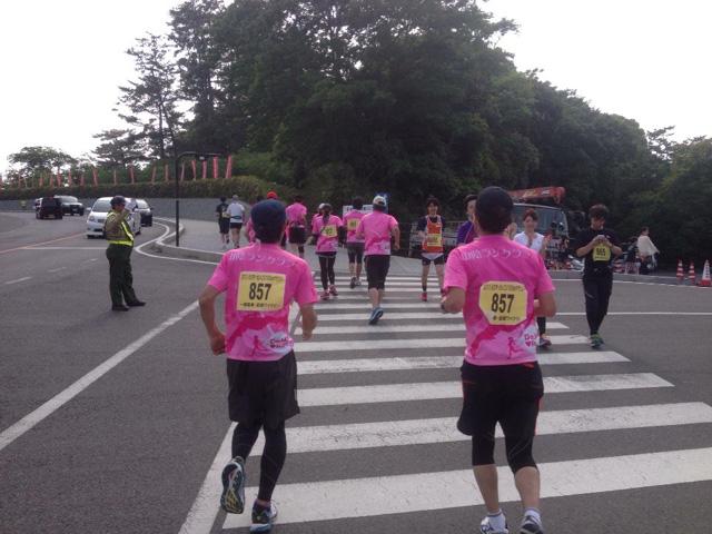 2013えびすだいこく100kmマラソン出雲大社までのラストラン