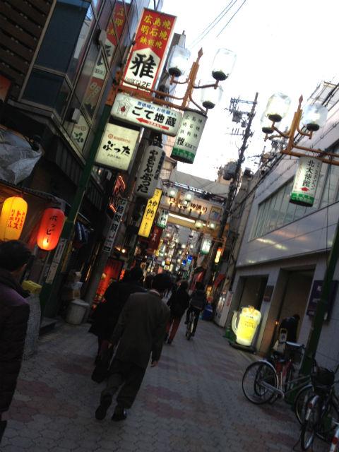 大阪梅田 飲み屋街