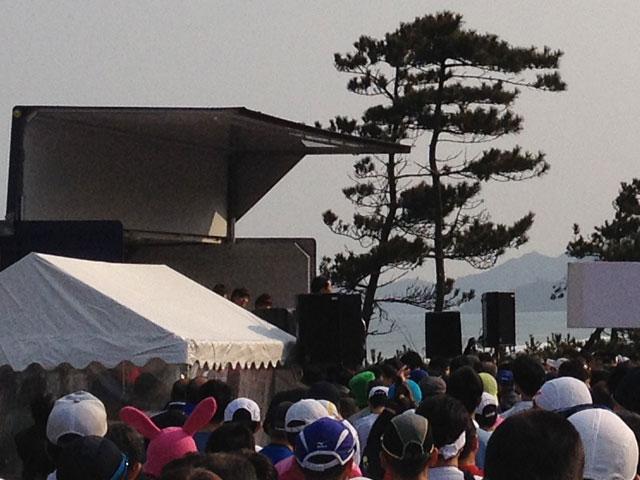AKB48西谷綾子ゲストランナー鳥取マラソン2014年