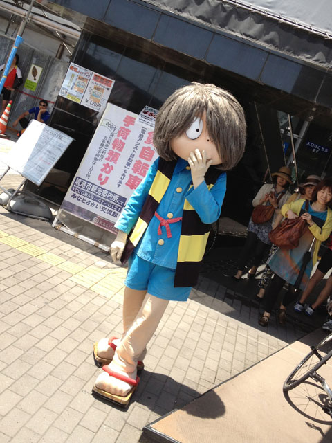 境港駅にて鬼太郎発見!