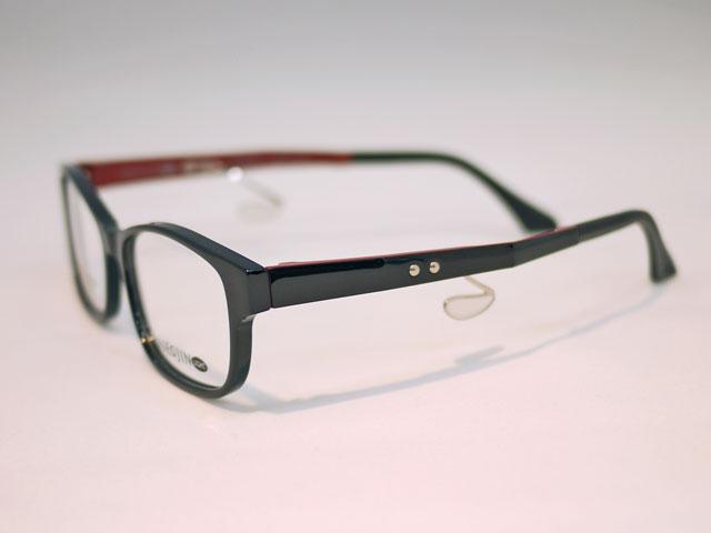 チラ見せツートンカラー壊れにくい軽量で鼻当てのない眼鏡
