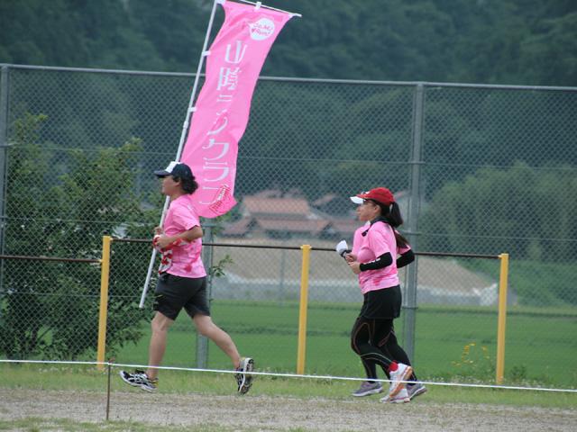 第17回 ピクニックラン桜江 山陰ランクラブ10km組ラン風景