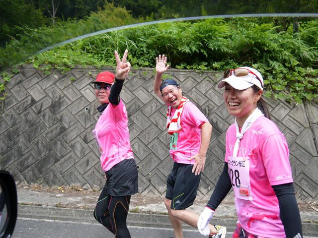 第17回 ピクニックラン桜江 山陰ランクラブ10km組7km地点
