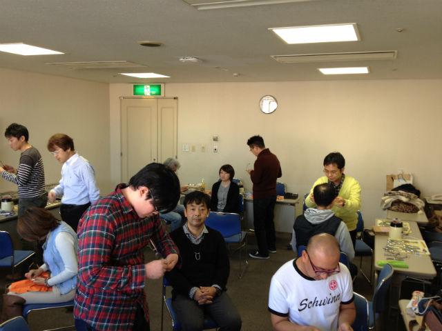 横田流フィッティングセミナー 眼鏡の調整の技術練習