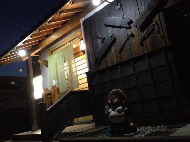 鳥取マラソン、前日の食事処、お店入り口