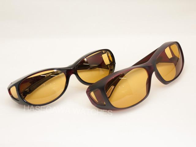 東海光学、遮光眼鏡ビューナル大きいサイズと小さいサイズ比較