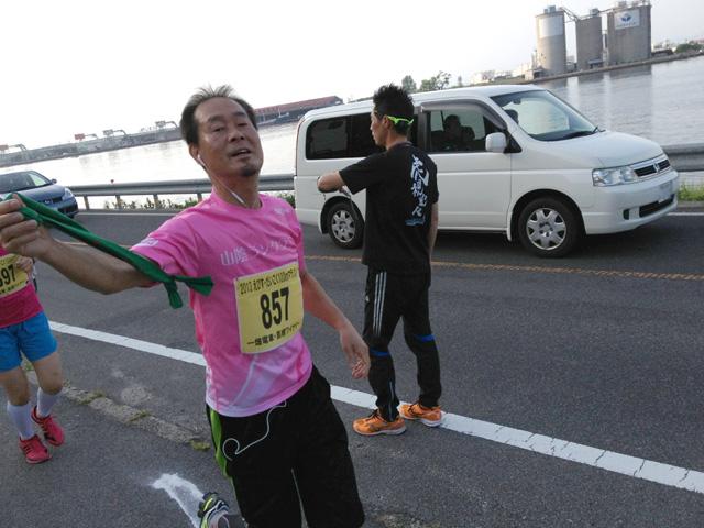 2013えびすだいこく100kmマラソン・第一走者
