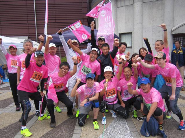 2013年なかうみマラソン全国大会・山陰ランクラブ集合写真