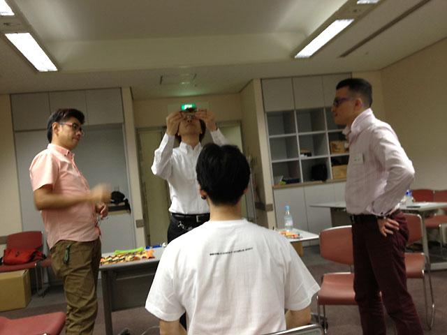 横田先生 横田流フィッティング 先生の指導