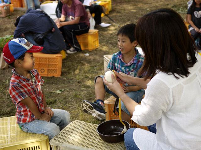 フルーツの森平田観光農園りんごを食す