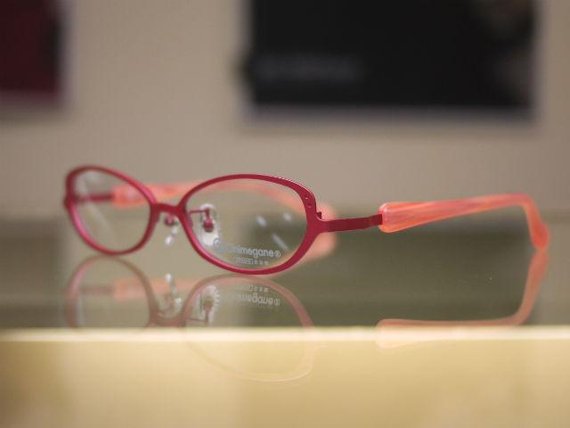 Onimeganeオニメガネ、可愛いピンクカラー