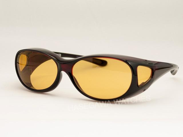 東海光学遮光眼鏡ビューナルTypeFダークレッドSサイズ女性用