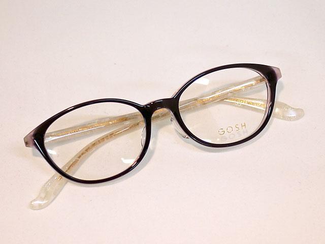 黒ぶち眼鏡レディース女性用ソフトな印象のフォックス型