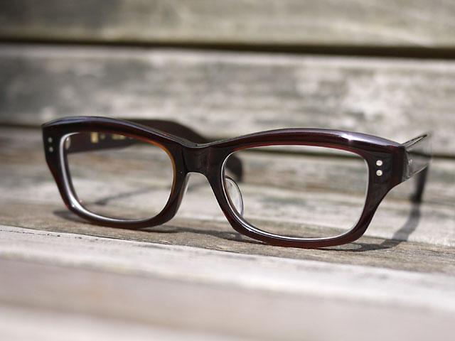 鯖江産のメガネ「元げん」57 完成写真1