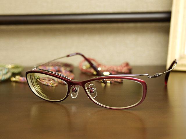 福井県鯖江市産の眼鏡hamamoto 加工完了