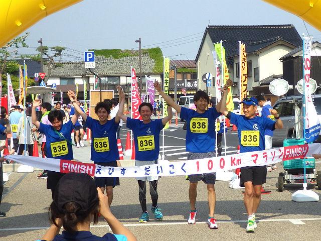 えびすだいこくマラソン、ソルコムチーム・ゴールシーン