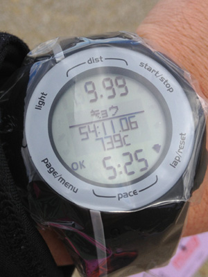 2013そうじゃ吉備路マラソンGARMINのネットタイム