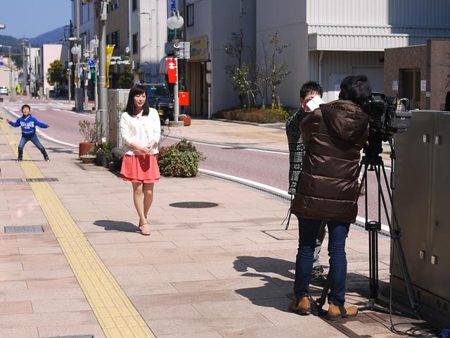 ローカル番組週間ヤッホーでお店が紹介されます。坂西美香アナ