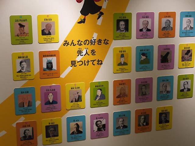 福井県立こども歴史文化館・先人一覧