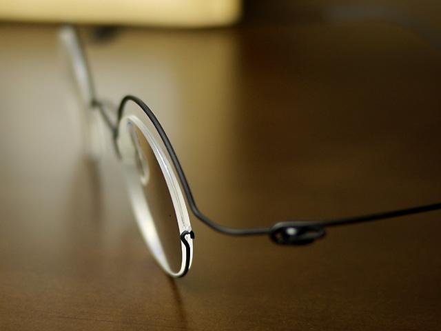 コンセプトY・丸眼鏡、遠近両用・薄い仕上がり