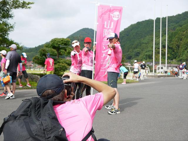 第17回 ピクニックラン桜江 山陰ランクラブの写真撮り