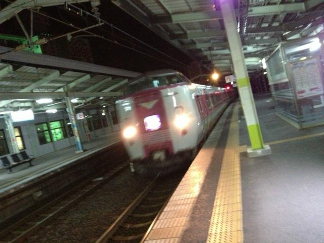 松江-岡山やくも始発