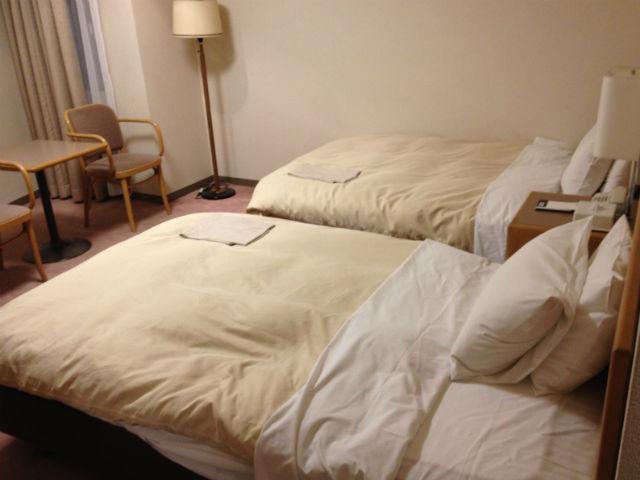 ホテル「島根イン青山」に宿泊