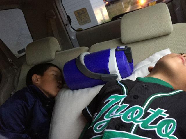 2015年秋学童野球新人戦2回戦出雲郷3回戦中海少年野球団で疲れ果てる