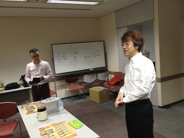 横田先生 横田流フィッティングセミナー開始