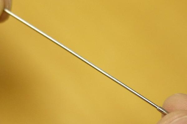純チタン(ジョイント芯)/ターニングのテンプル
