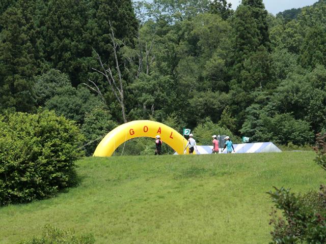 第17回 ピクニックラン桜江 ゴール「風の国」