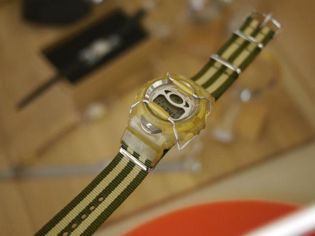 ベビーGにNATOタイプの腕時計用ベルト