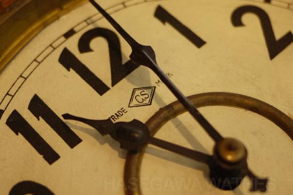愛知時計 ゼンマイ 掛け時計 8日巻き 打ち方つきアップ