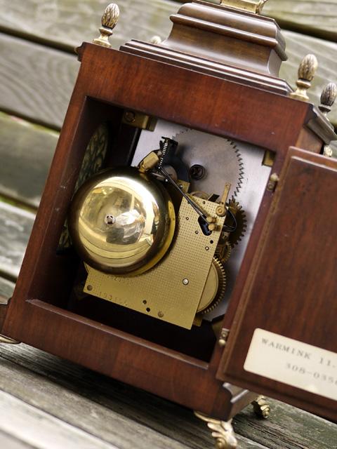 WUBA (Warmink)オランダ ワルミンク社製置き時計、ムーブメント