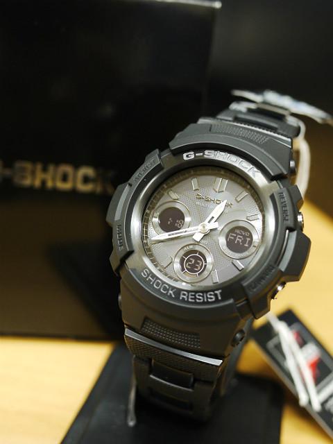 G-SHOCK ソーラー電波時計AWG-M100BC-1AJF