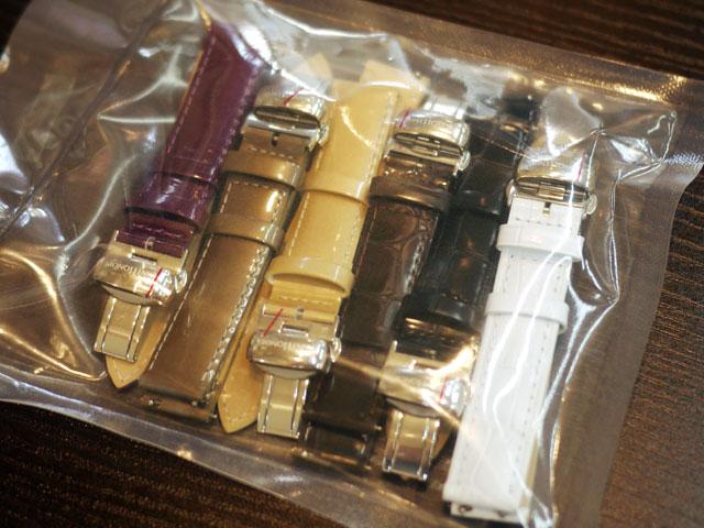 サントノーレ腕時計「オペラ」替えベルトのバリエーション写真