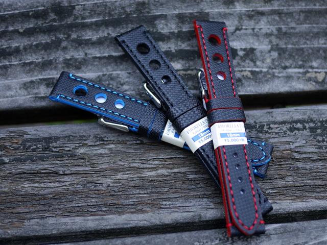 イタリア老舗の腕時計ベルトメーカー。穴開きラバーバンド