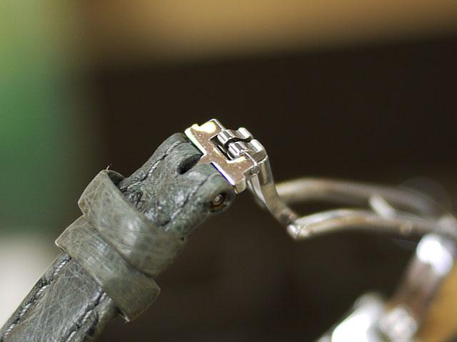 ロンジン・ドルチェヴィータ革ベルトとバックル部取り付けできます