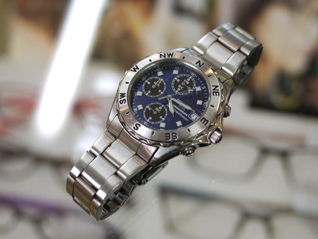 アルバALBAフィールドギア腕時計のクロノグラフ