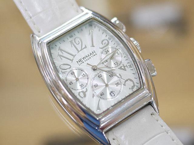 NEWMAN腕時計カレンダー枠丸型外れ