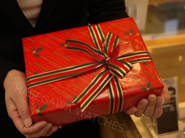 レディハミルトン・ヴィンテージ、クリスマスラッピング