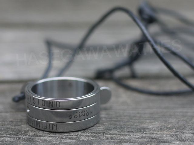 ノモス・サンリング・サンダイヤルも値上がり、日時計ネックレス